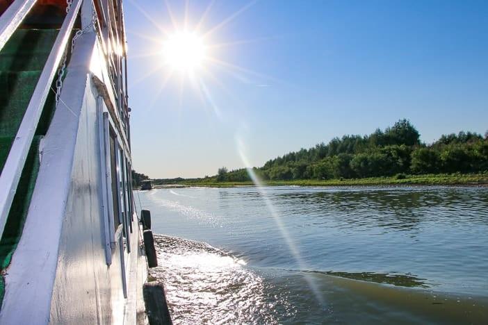 Flussfahrt Donaudelta Rumänien
