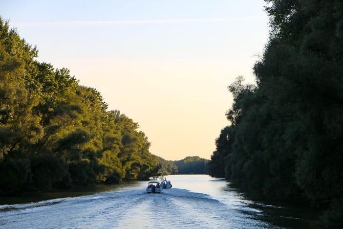 Sonnenuntergang Donaudelta Rumänien