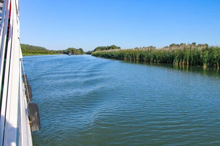 Wasserlauf Auenwald Donaudelta Rumänien