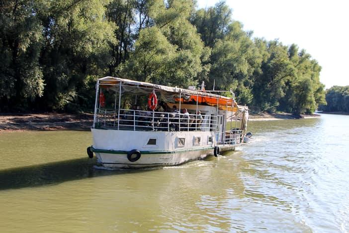 Hausboot  Donaudelta Rumänien
