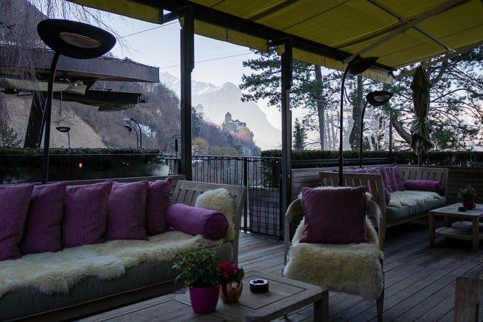 Garten Park Hotel Sonnenhof in Vaduz