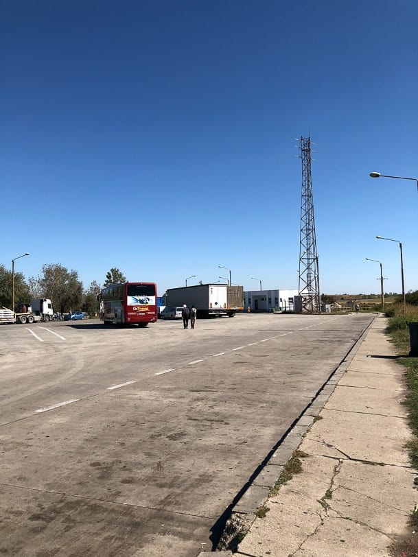 Autobahnraststätte in Rumänien
