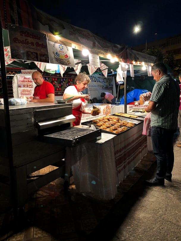Tulcea Markt Piata Civica Rumänien