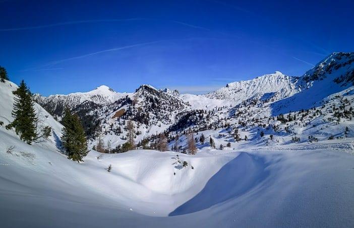 Winterwanderung von Malbun Alp Sass