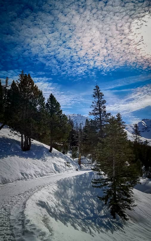 Winterwanderung Malbun Sass