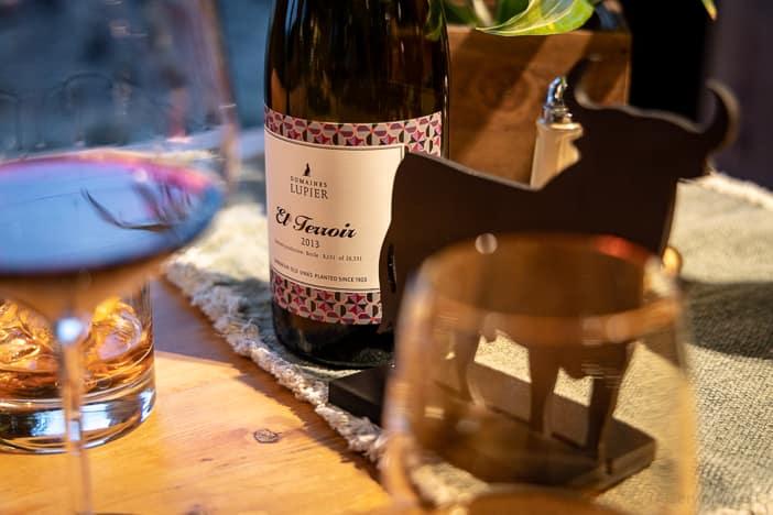 Spanischer El Terroir Rioja-Wein