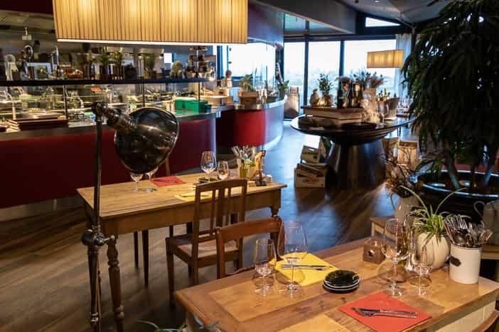 Gummelstube-Restaurant und offene Küche