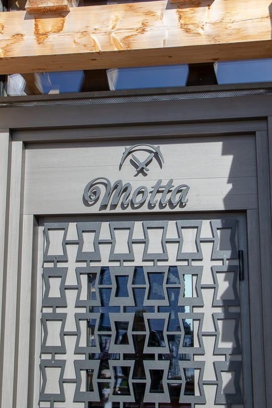 Motta Hütte Türe