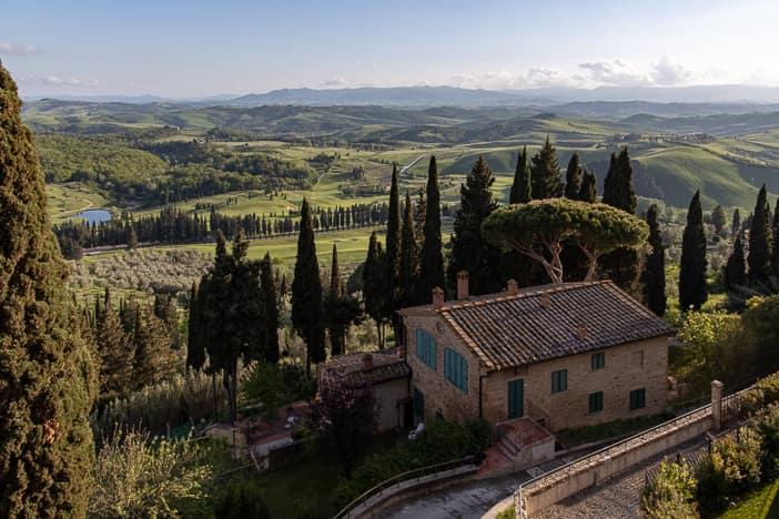 Aussicht von Borgo Castelfalfi