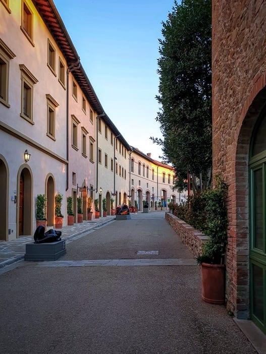 Gasse zum Borgo Castelfalfi