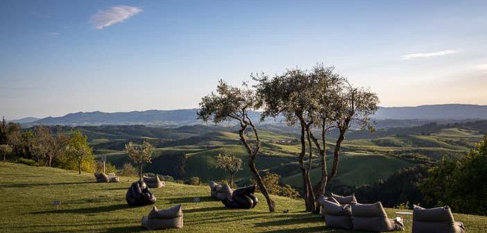 Garten mit Aussicht im Castelfalfi Resort
