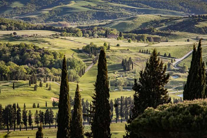 Aussicht von Castelfalfi