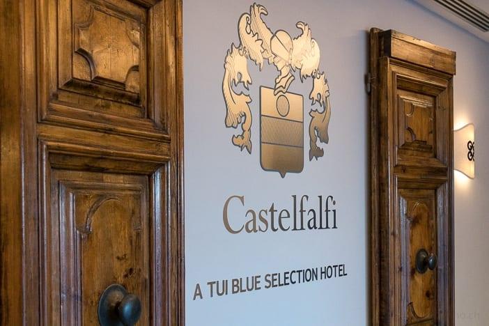 Lobby im Castelfalfi Resort