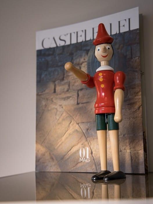 Pinocchio in Castelfalfi