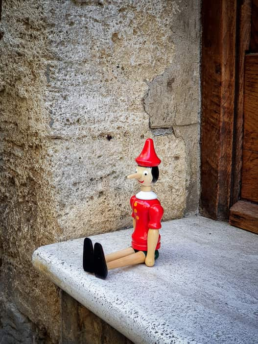 Pinocchio in Volterra