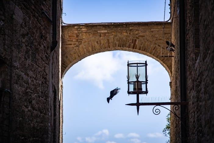 In den Gassen von San Gimignano