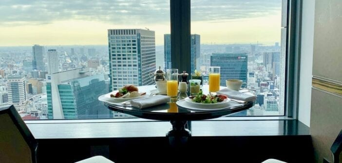 Frühstücksbuffet im Shangri-La Tokyo