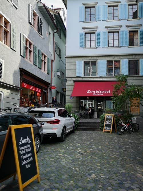 Berühmtes Café Schober, neu Teil der Arbeitskette