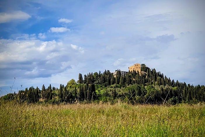 Sicht auf das Borgo Castelfalfi von TUI Blue Selection