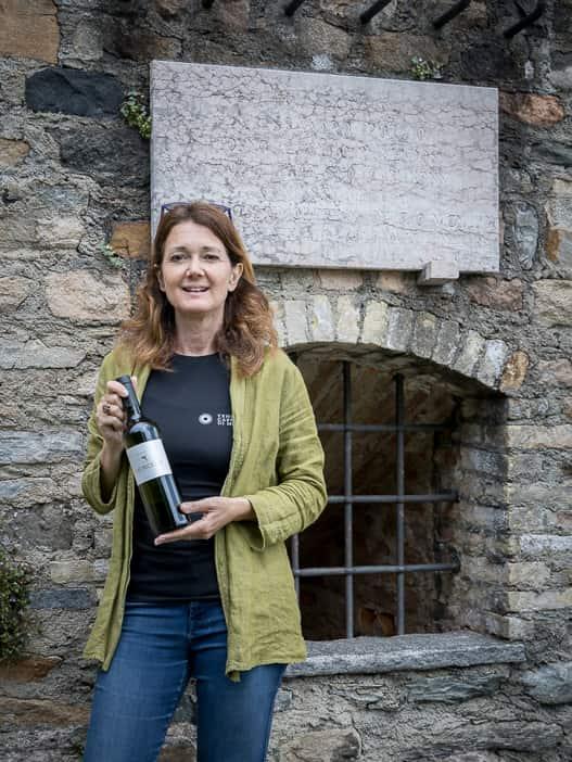 Gaby Gianini, Gastgeberin Relais Castello di Morcote