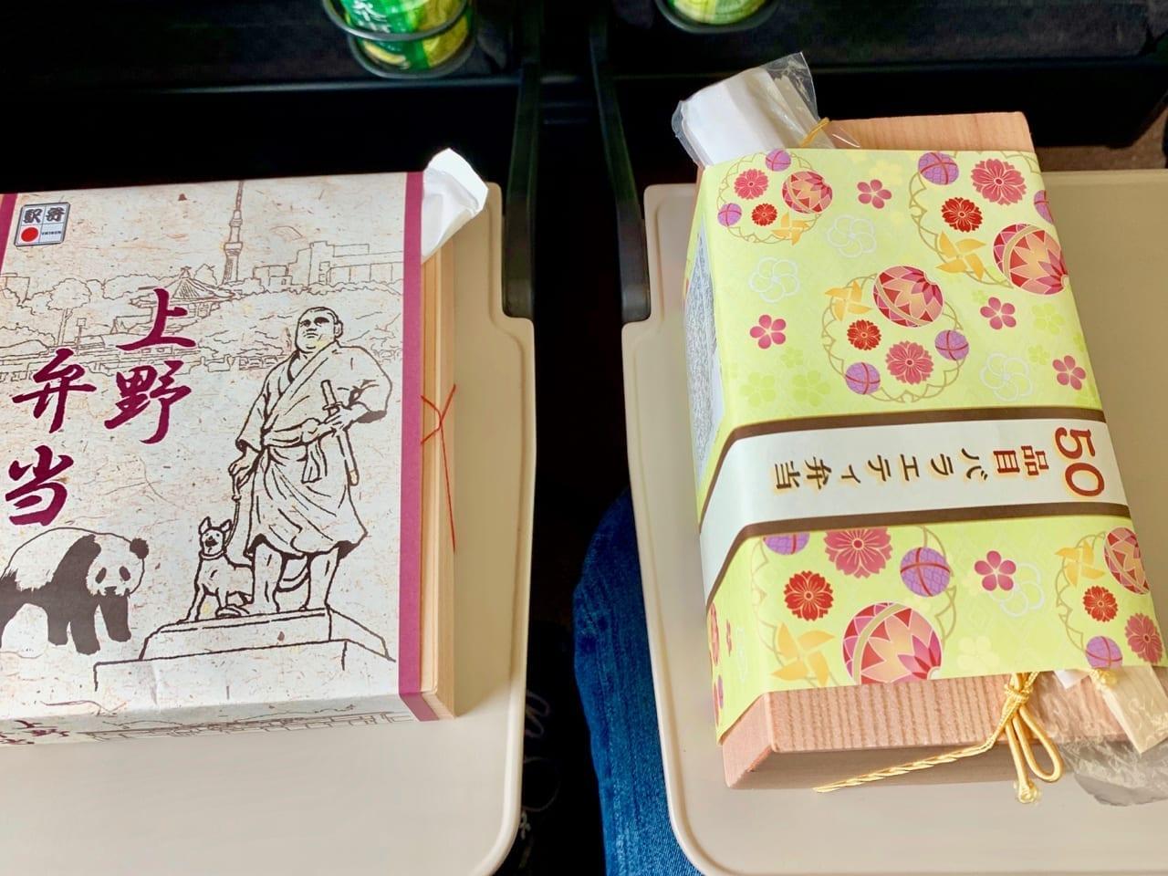 Lunchboxen auf japanisch: Zwei schön verpackte Ekibens