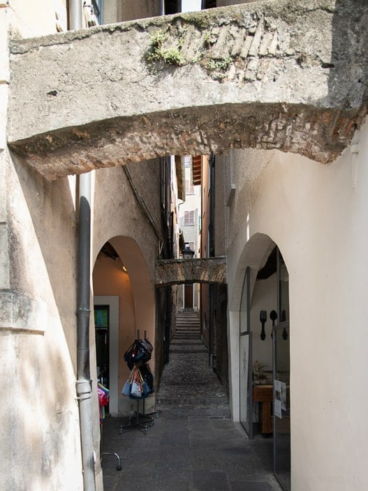 Gasse in Morcote