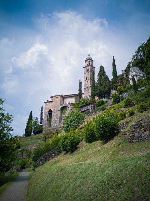 Kirche S. Maria del Sasso in Morcote