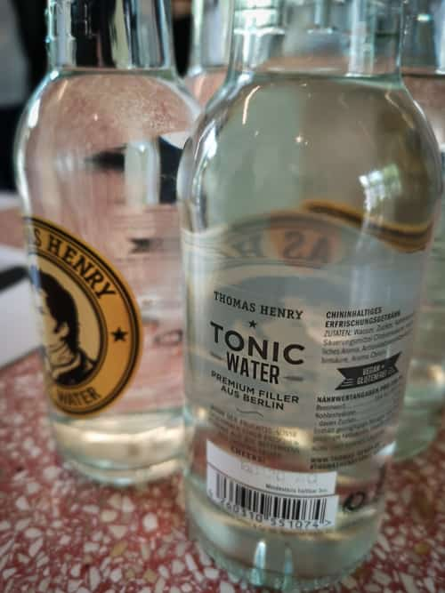 Thomas Henry Tonic Water für den Espresso-Tonic