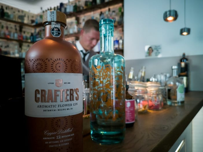 Crafters Gin mit Andreas Kloke an der Bar