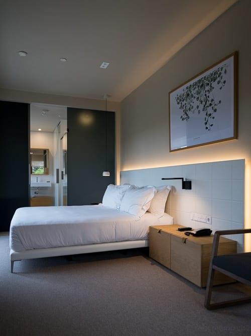 Grosszügiges Hotelzimmer im Arima Hotel oberhalb von San Sebastián