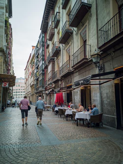 Casco Viejo - Altstadt in Bilbao
