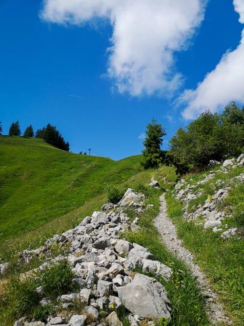 Hasenboden Höhenweg Amden