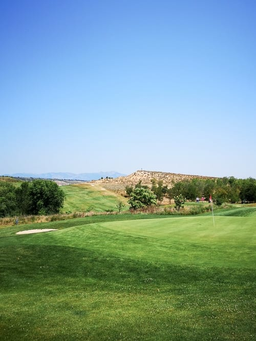 Green des Logroño Golf