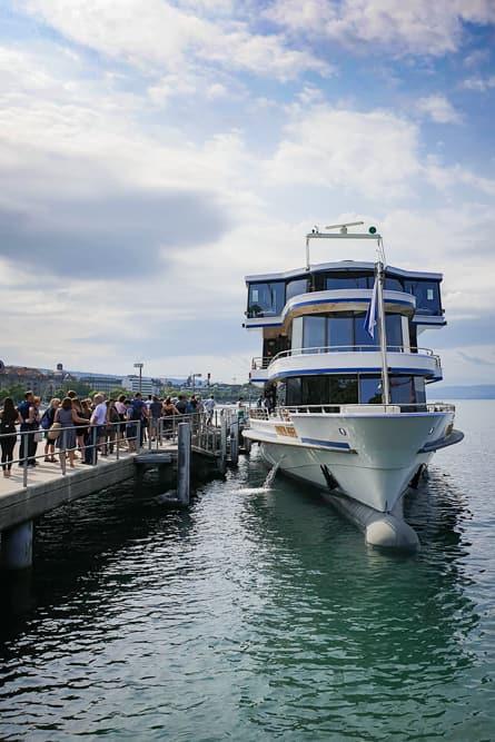 Sommer-Brunch-Schiff auf dem Zürichsee
