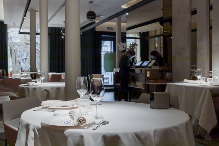 Restaurant Atelier Etxanobe in Bilbao