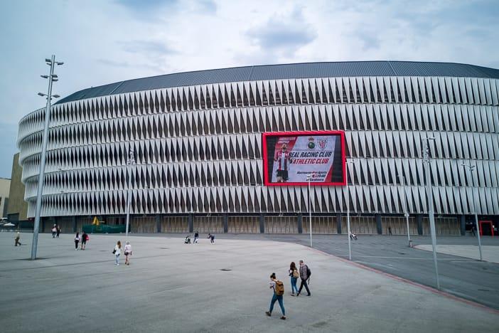 Fussballstadion San Mames Bilbao