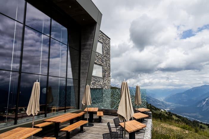 Seilbahnarchitektur Chetzeron Crans-Montana