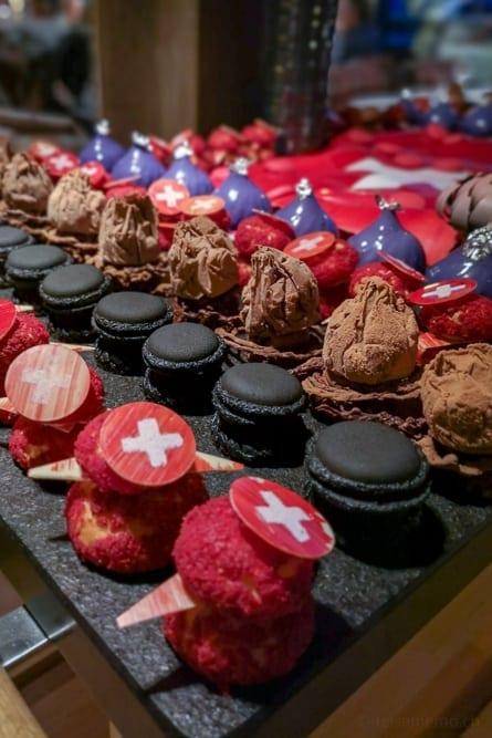 Dessertbuffet Crans Ambassador