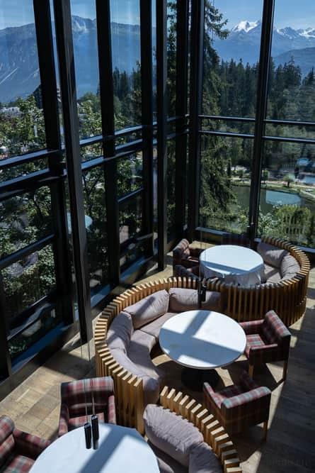 Lounge im Crans Ambassador