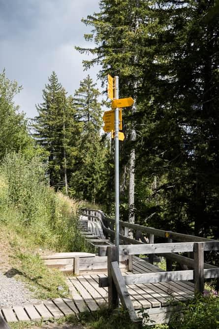 Suonen Wanderung Crans-Montana
