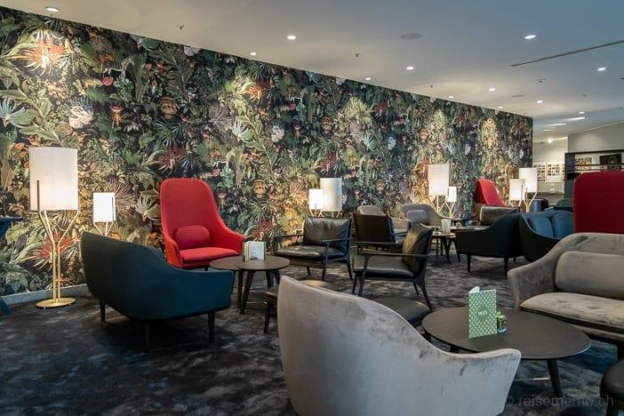 Lounge im Seedamm Plaza