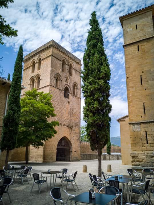 Torre Abacial in Laguardia, Spanien