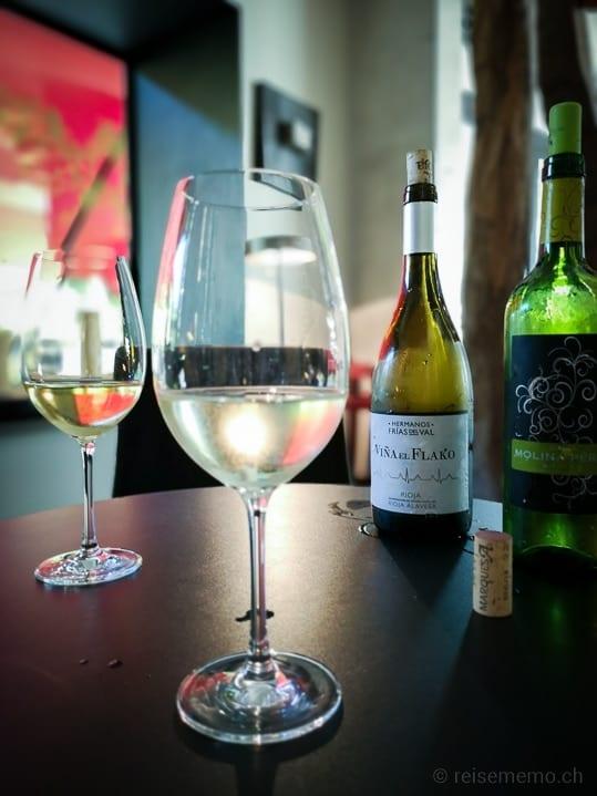 Viña el Flako Weisswein aus Viura in der Rioja Alavesa