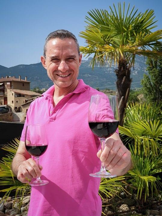 Walter in Villabuena de Álava im Rioja Weingebiet