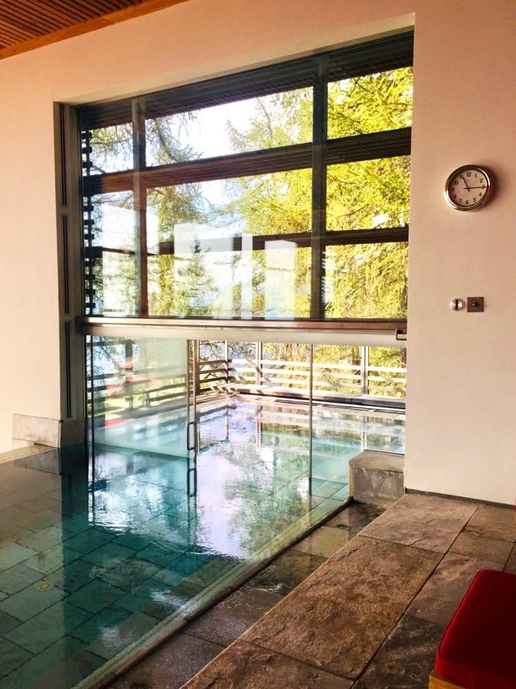 Pool im Vigilius Mountain Resort