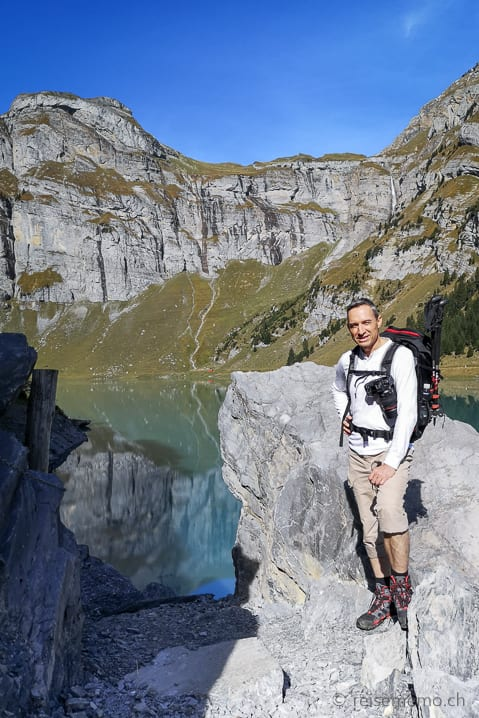 Panixersee im Val Pigniu in der Surselva