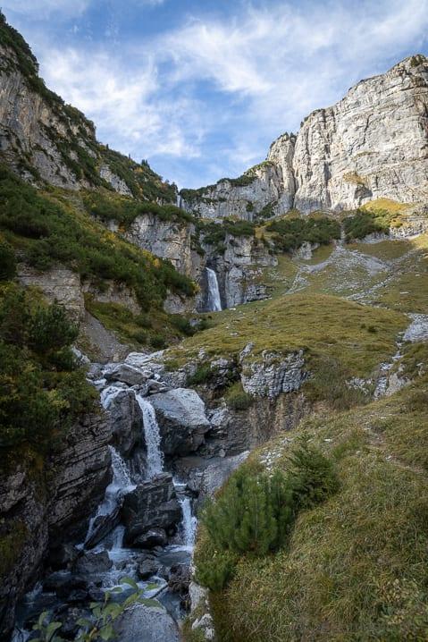 Wasserfall am Panixersee