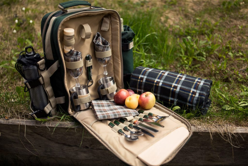 Luxus Picknick-Rucksack