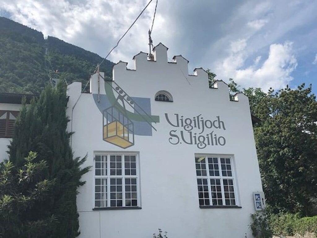 Bergstation der Seilbahn Vigiljoch S. Vigilio