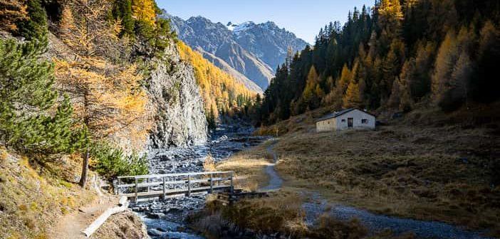 Ausflugsziel, Besenbeiz, Graubünden, Herbst, Herbstwanderung, Val Varusch, Wanderung, https://reisememo.ch/schweiz/val-varusch-alp-trupchun-schweizer-nationalpark, wandern